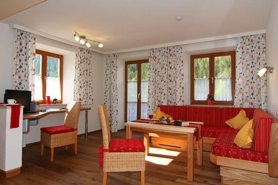 Appartement Watzmann Wohnbereich
